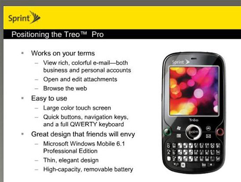 Sprint-Treo-Pro-Details